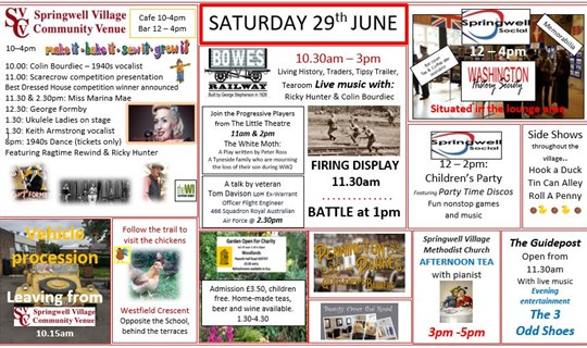 1940s Springwell Village Event