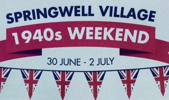 Springwell village 1940's weekend