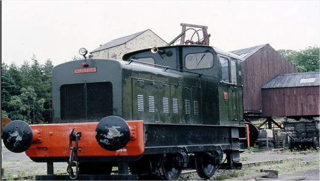 Ruston and Hornsby Diesel | 0-4-0 Diesel